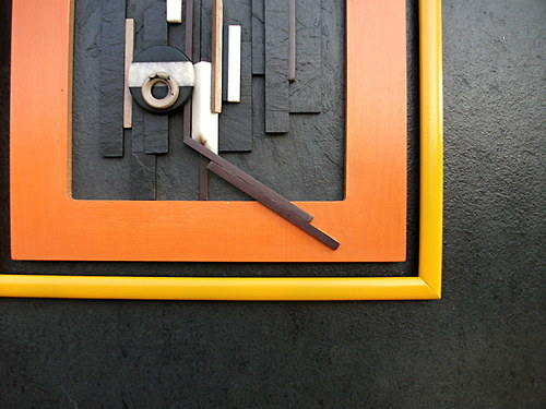 Reliéf z cyklu - Pocta architektům - břidlice