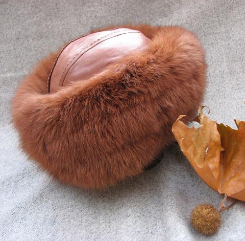 Kdo tě zahřeje...krásná kožešinová čepice