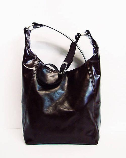 Kožená kabelka Leanka