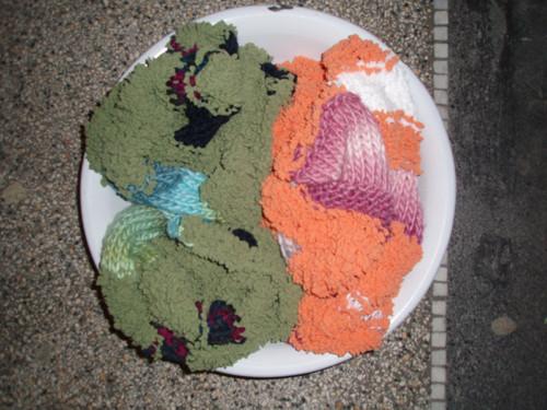 Zeleň a oranž