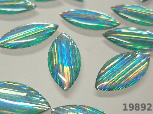 19892 Kámen nažehlovací velký světle modrozelený