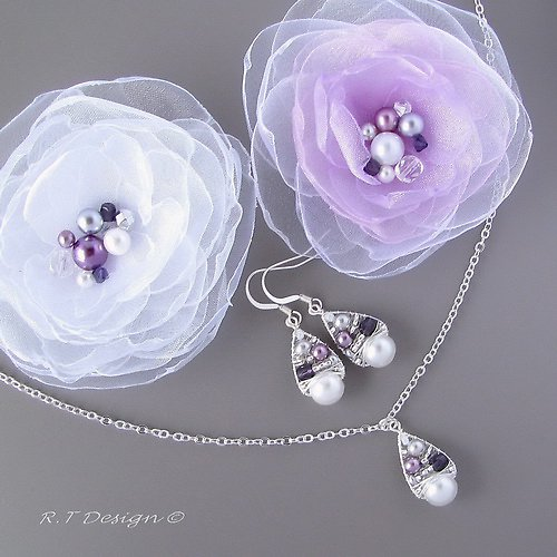 Náhrdelník Sweet Violets...