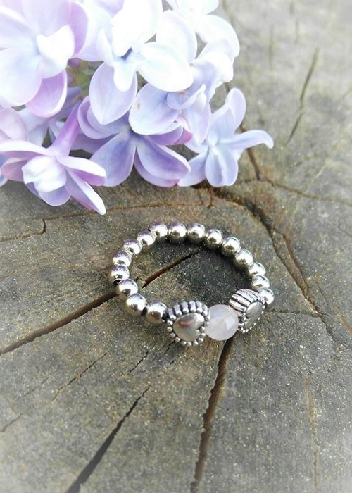 SIMPLY DELICATE *prsten*růženín