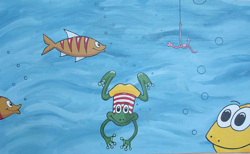 Pod vodou je veselo :-)