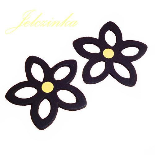 Černé kytky