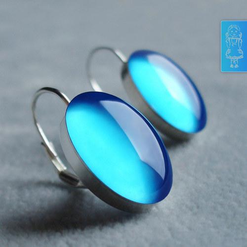 Nebesky modré - stříbro