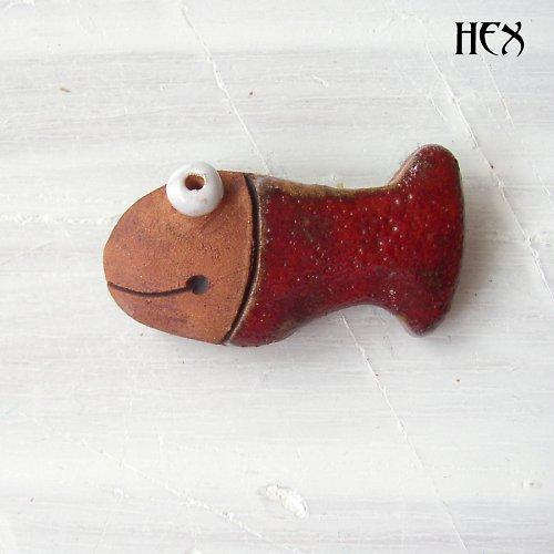 Fish II. - red