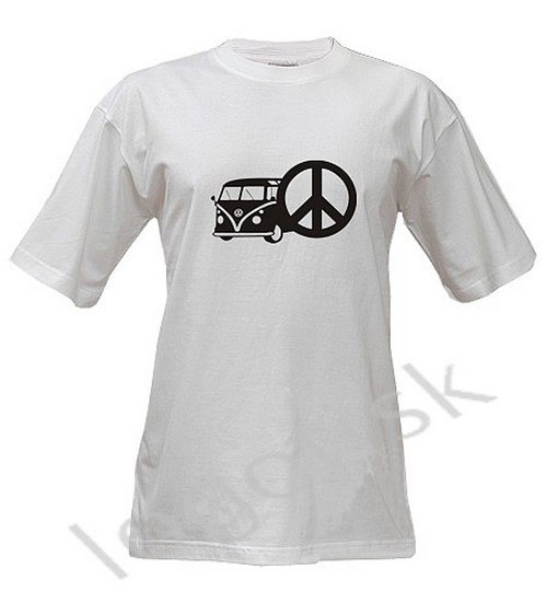 Tričko pro Fandy VW Bus Hippies