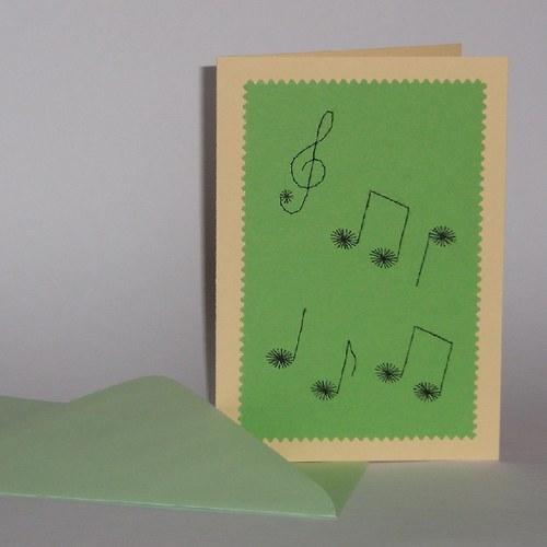Noty zelené