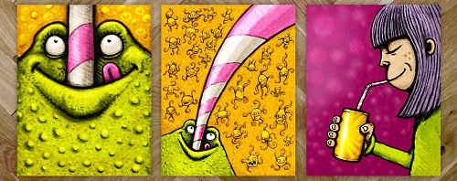 Lemonade Trio - tisk