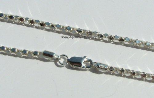 Stříbrný řetízek Ag 925/1000,45 cm