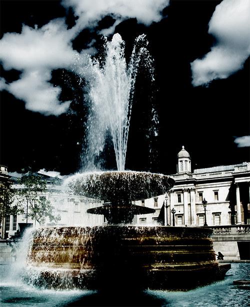 Londýn - fontána