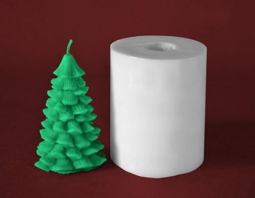 Forma na svíčky Stromeček klasik - výška 9cm