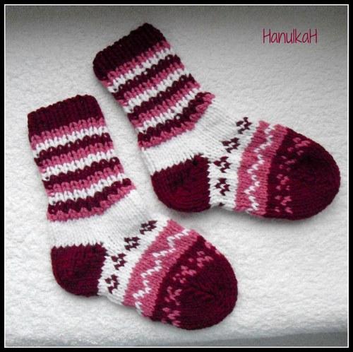 Dětské ponožky,vel.24-25