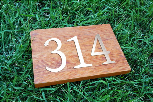 Domovní číslo - 3 číslice