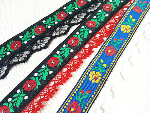 Slovak folklore chokers