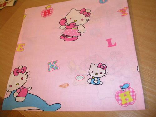 povlak na dětský polštářek