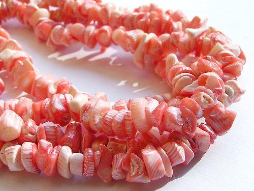 Růžový korál - úlomky