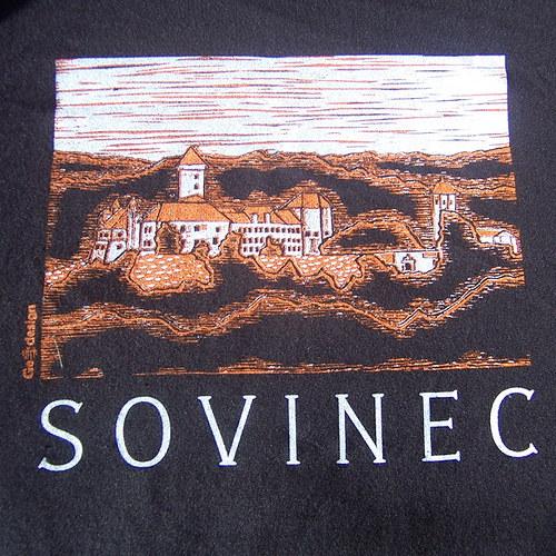 Dětské tričko s motivem hradu Sovinec