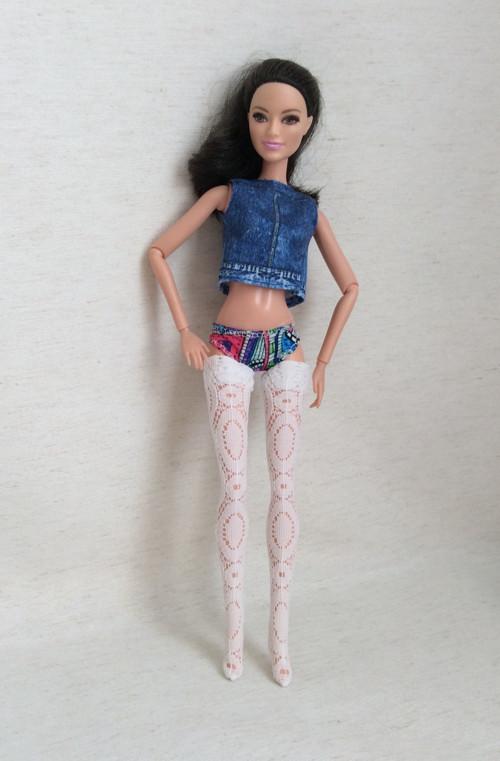 Punčošky krajkové pro Barbie