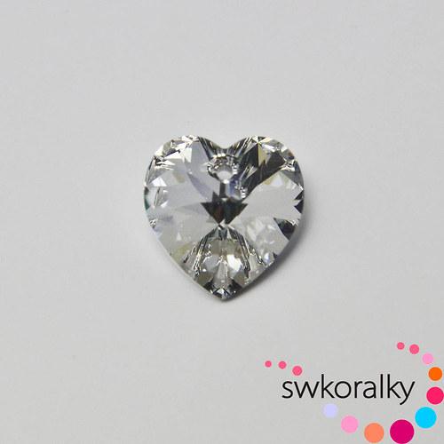 SRDCE 14,4 SWAROVSKI ® ELEMENTS 6228 crystal cal
