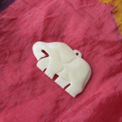 Slon z bůvolí kosti