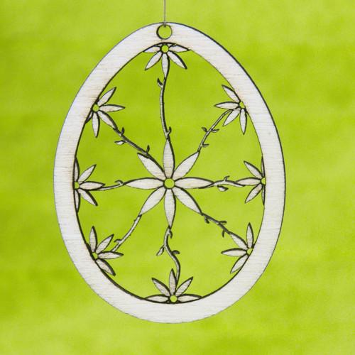 Velikonoční vajíčko - křehká květina
