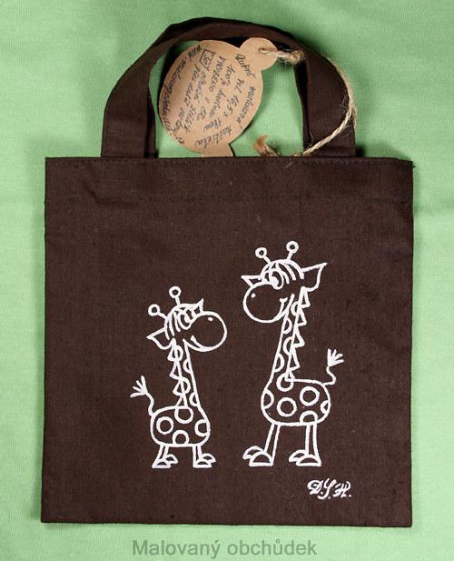 Minitaštička s žirafkami