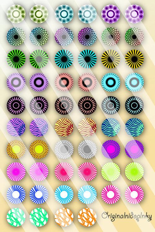fotomotivy pro tvorbu šperků z pryskyřice