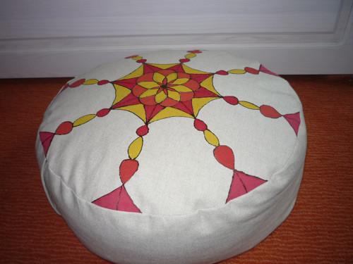 Meditační sedák - mandala