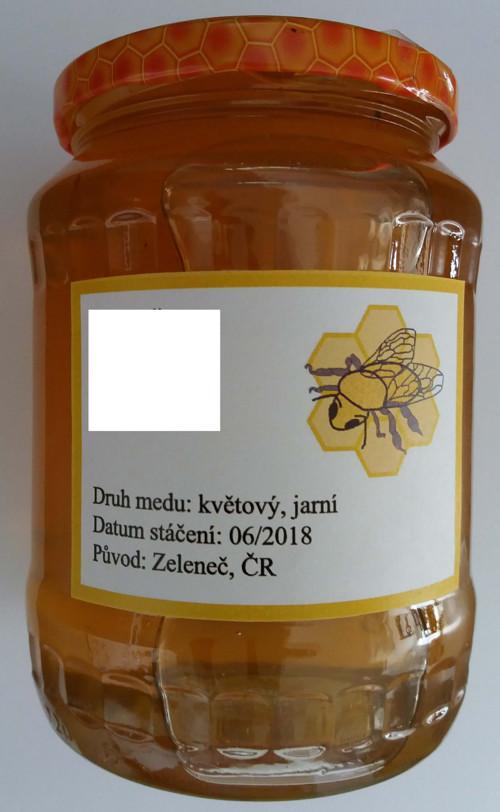 Včelí med - květový luční