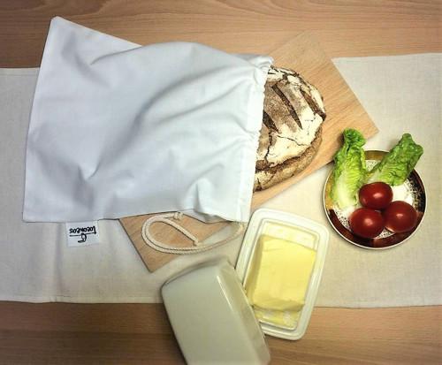 Pytlík na chléb Bio bavlna 30 x 35 cm