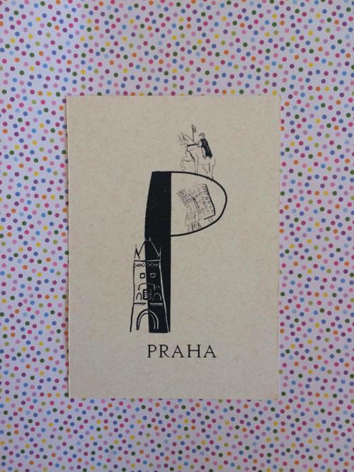 P jako Praha / pohled