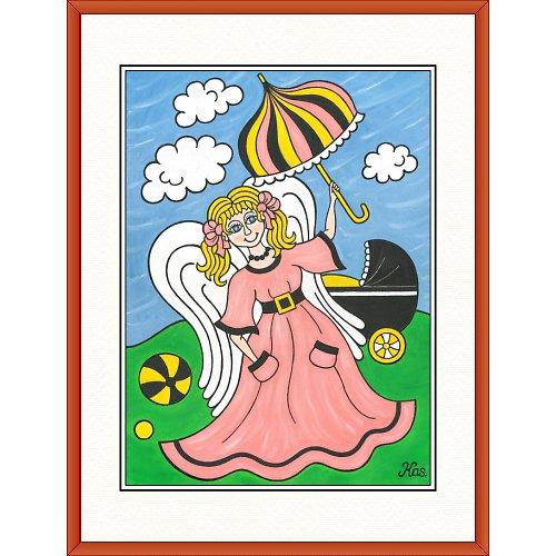 Andělíček Strážníček 31,5 x 41,5cm