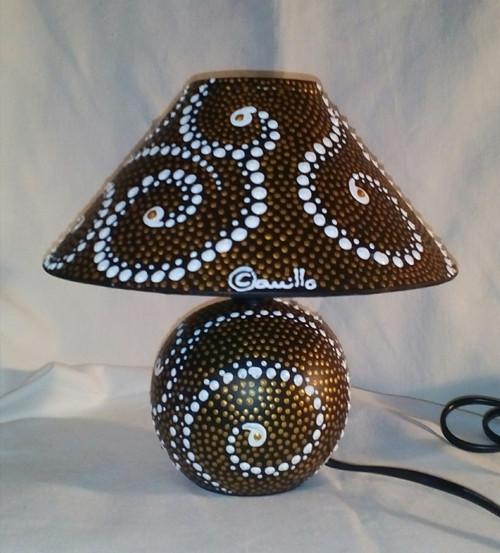 Lampa stolní s energií ČEZ, ale především mojí