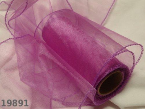 19891-B36 Široká stuha organza 15cm růžovofialková