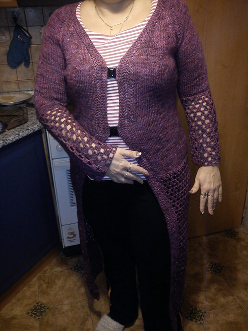 Dámský svetr ,dlouhý