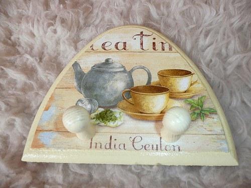 Věšáček - tea time