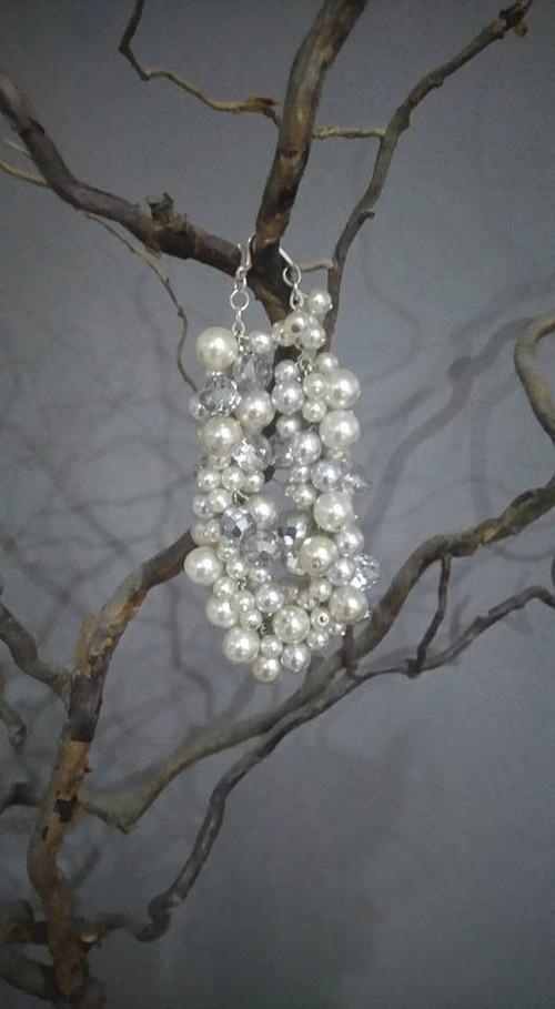 mohutné náramky perlové