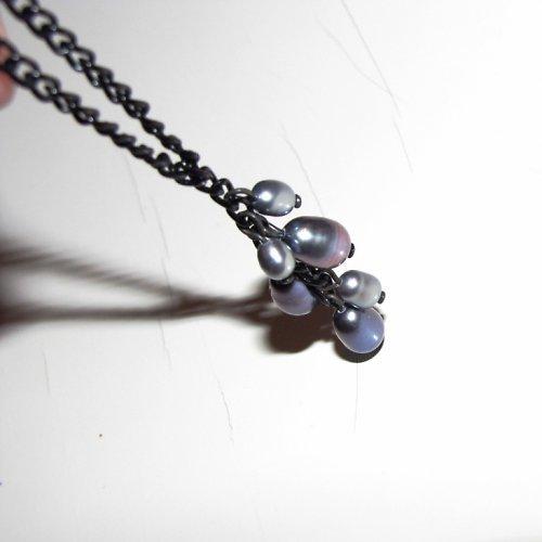 Souprava - náhrdelník a náušnice z perel