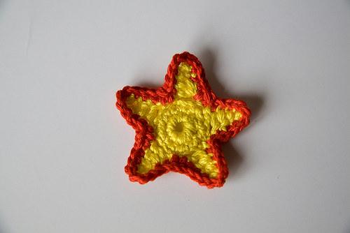 Háčkovaná hvězdička