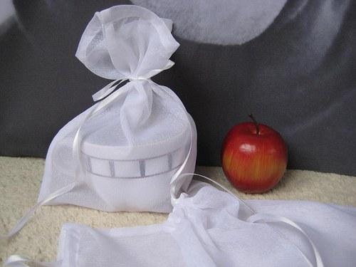 Ozdobný textilní sáček