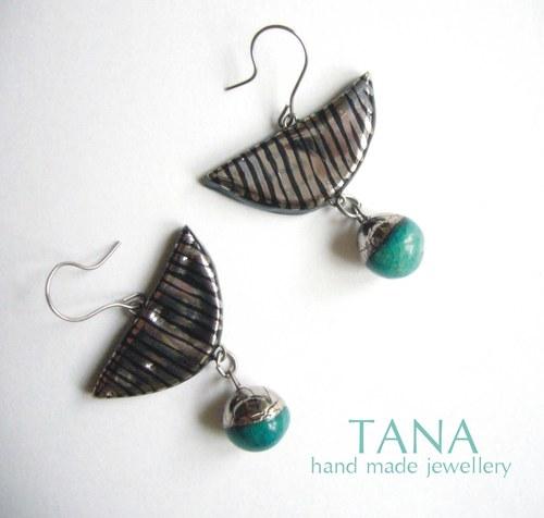 Tana šperky - keramika/platina,