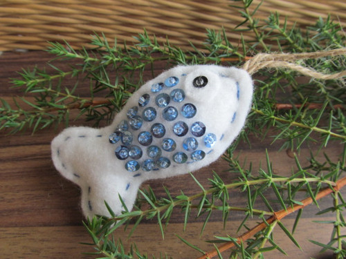 Šupinaté rybičky - modrá