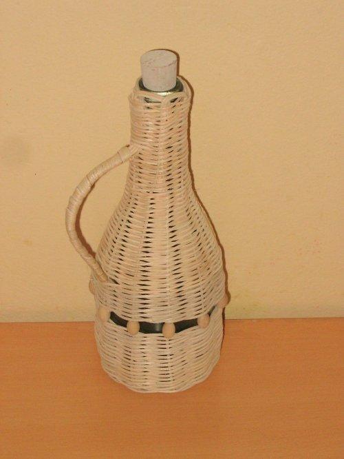 Opletená lahvička na slivovici