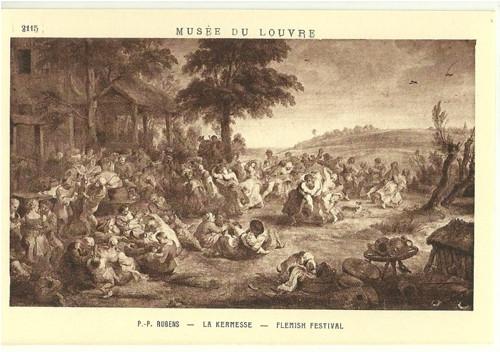Umělecká pohlednice P.P.Rubens