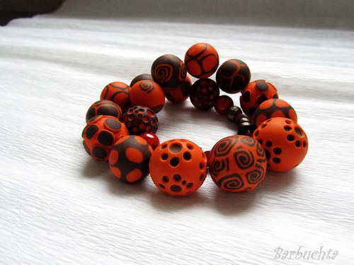 Oranžovohnědé korále