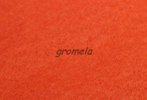 Oranžový filc 1,5 mm - 15