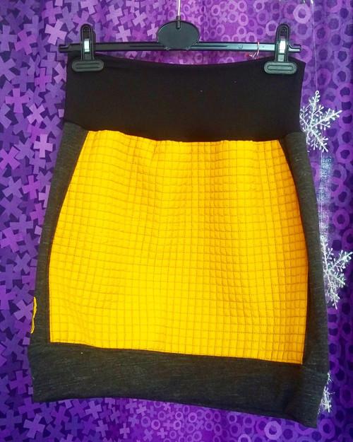 Prošívaná sukně