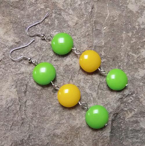 Zelená a žlutá I.